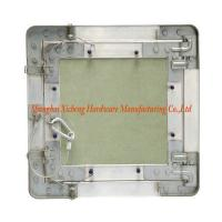Green Gypsum Board Aluminum Access Panel With Steel Wire Hook