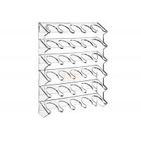 Quality 4mm Wall Mounting Clear Beverage Display Rack Superior Acrylic for sale
