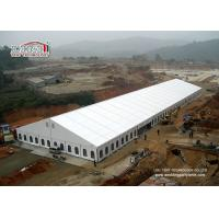 Quality 30 x 100m Huge White Marquee Tent Aluminum Frames PVC Sidewalls with Clear Windows Tent for sale