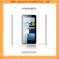 Quality 7'' MTK6572 narrow side android tablet phone with WCDMA850/2100 and GSM 850/900/1800/1900 for sale