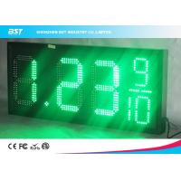 Quality 18 Inch Large Led Gas Station Price Display , Gas Price Sign Numbers for sale