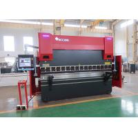 Quality 8 Axis Automatic CNC Press Brake Machine 8 Axis With HOERBIGER Servo Hydraulic System for sale