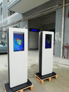 Quality 22 Inch 2500nits Interactive Digital Signage Kiosk IP65 1200W for sale