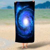 Buy cheap Rectangel Round Microfiber Swim Towel Hd 3d Print With Piping Or Tassel from wholesalers