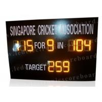 Quality Multi Functional Portable Cricket Scoreboard Electronic UV Protection Board for sale
