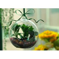 Quality Hanging Glass Teardrop Candle Holders for sale