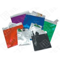 Buy High Gloss Plain White Poly Strip Aluminum Foil Envelopes 162×229+30 at wholesale prices