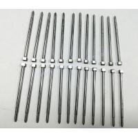 China SKD61 Material Flat Square Head Straight Ejector Pins With 52HRC on sale