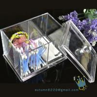 Quality acrylic cosmetic organizer boxacrylic magazine organizer for sale