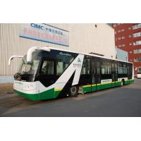 Quality Anti - Slip Low Floor Tarmac Coach Apron Bus With IATA Standard for sale