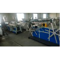 Quality PA Electric Threading Plastic Pipe Machine , Pvc Pipe Extrusion Line Long Life for sale