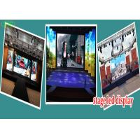 Quality high definition indoor p3.91 stage background led  big screen with light cabinet for sale