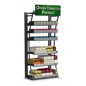 Quality Steel Frame Cigarette Display Cabinet Overhead Cigarette Dispenser For Smoke Shop for sale