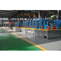 Quality Automatic Diameter 13-50 x 0.6-2 mm steel plate ERW pipe mill line workshop machine to make square tube for sale