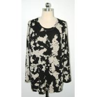 Quality Anti Shrink Floral Print Sweater Comfortable Pullover Big Flower Printing for sale