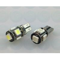 China Euro Error Free 5-SMD-5050 T10 2825 W5W LED Bulbs - Canbus on sale
