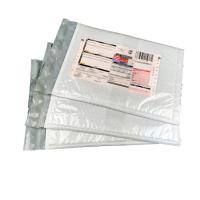 Quality Strong Glue Co - Extruded Poly Bubble Envelope With Label Plastic Pocket for sale