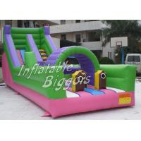 Quality Waterproof PVC Inflatable Obstacle Course Custom Durable For Commercial for sale
