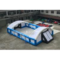 Quality Outdoor Inflatable Sports Games PVC Inflatable Football Field Court for sale