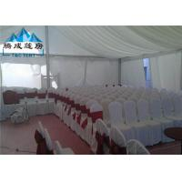 Quality Clear Span Structure Wedding Event Tents Hot - DIP Galvanized For 500 People for sale