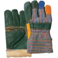China double palm Rainbow Driving Winter Leather Gloves / Glove 31301 on sale