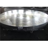 Quality OD1935mm Carbon Steel ASTM A105 Forged Disc Normalized Heat Treatment for sale