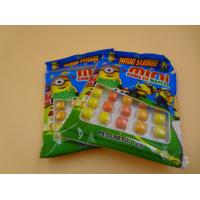 Quality Mini Round Colorful Mixed Chewing Gum Candy For Kids 12g Bag Packed for sale