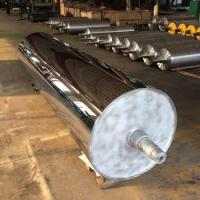 Quality Big Size Mirror Roller With Polishing Machine , Concentricity Less Than 0.02mm for sale