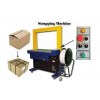 China 200 Width Carton Box Strapping Machine / Strapping Seal Making Machine on sale