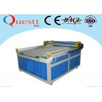 Quality MDF Wood Laser Engraving Machine , CNC Panel Control Stone Engraving Equipment for sale