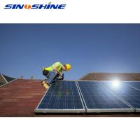 Buy cheap SINOSHIINE 10kw solar system on grid solar panel system 2kw-20kw with best price from wholesalers
