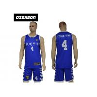 Buy cheap Youth Sublimation Kits Black Custom Basketball Uniform For Youth Boys from wholesalers