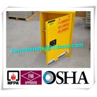Quality 4 GAL Small Industrial Safety Cabinets With Door For Chemical Flammable Liquids for sale
