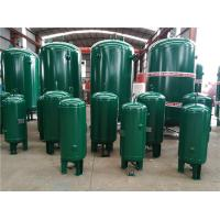Quality 400 Gallon Vertical Industrial Compressed Air Receiver Tanks High Temperature Resistant for sale