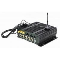 Buy cheap 4CH Black Box Mobile Vehicle DVR 4G GPS WIFI 1080P Pre Recording With Alarm from wholesalers
