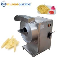 Quality Small High Speed Multifunction Vegetable Cutting Machine Adjustable Cutting Size for sale