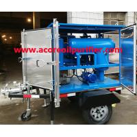Buy cheap Mobile Transformer Oil Purification Plant Company,Oil Treatment Machine from wholesalers