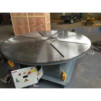 Quality Horizontal Rotation Welding Turn Table with Stepless Frequency Adjustment Speed Control for sale