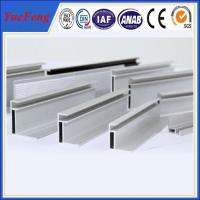 Quality Extruded aluminium profile for PV solar panel frame for sale