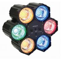 Quality Linkable LED Flashing Light 6 Pcs 3-6 Different Colored Modules RGBYO for sale