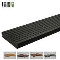 Quality Waterproof Bamboo Deck Boards With Smooth Easy Prolapse Concrete Surface for sale