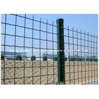 Quality Holland Green Wire Mesh Panels Individually Plated For Terminal Security for sale