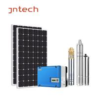 China Waterproof Single Phase Solar Inverter For Pump 550W Solar Pumping System on sale