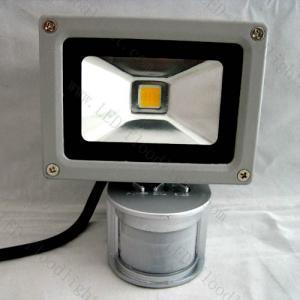 Quality PIR sensor 10w led flood light IP65 factory price for sale