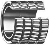 BT4B 331664 AG/HA1 four row tapered roller bearing, cold mill, case hardening steel for sale