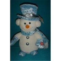 Buy Custom Design Christmas Gift Cute Snow Kid in Blue Clothing at wholesale prices