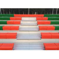 Outdoor Permanent Stadium Seats With Aluminum Seat Plank / Double Deck