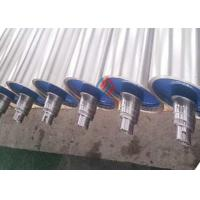 High Precision Chrome Plated Rollers / Woodworking Machine Paper Mill Rollers for sale