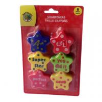 Quality Fancy colorful star pencil sharpener for sale