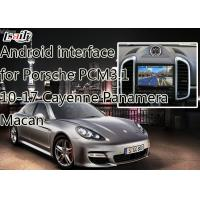 Quality Multimedia Android 6.0 Navigation System for Porche Macan , Panamera , Cayenne support APPS , on-line Map for sale